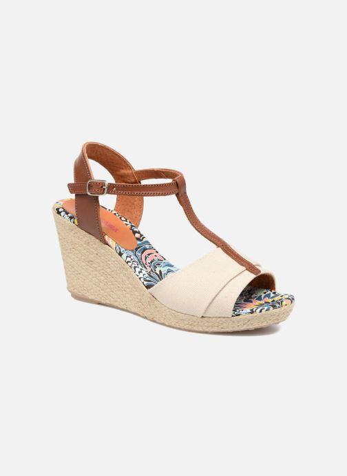 Sandales et nu-pieds Pare Gabia Mirage Beige vue détail/paire