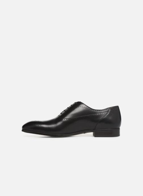 Chaussures à lacets Santoni Simon 15576 Noir vue face
