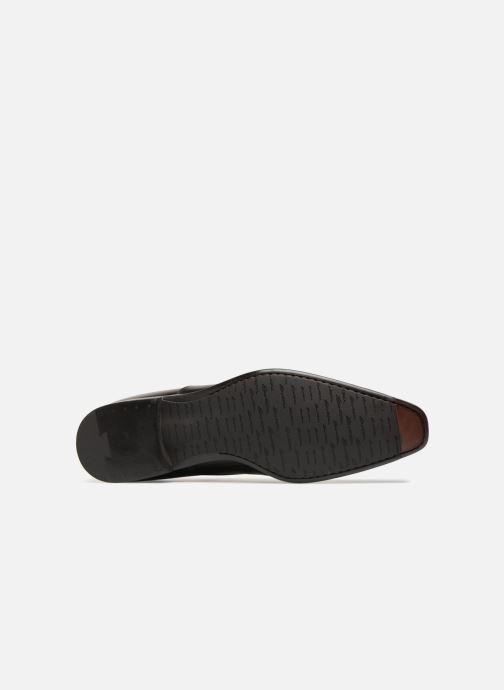Zapatos con cordones Santoni William 12381 Negro vista de arriba