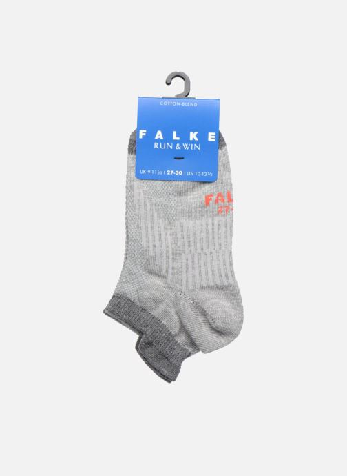 Socken & Strumpfhosen Falke Mini-socquettes RUN & WIN SNEAKER Coton Sport grau ansicht von hinten