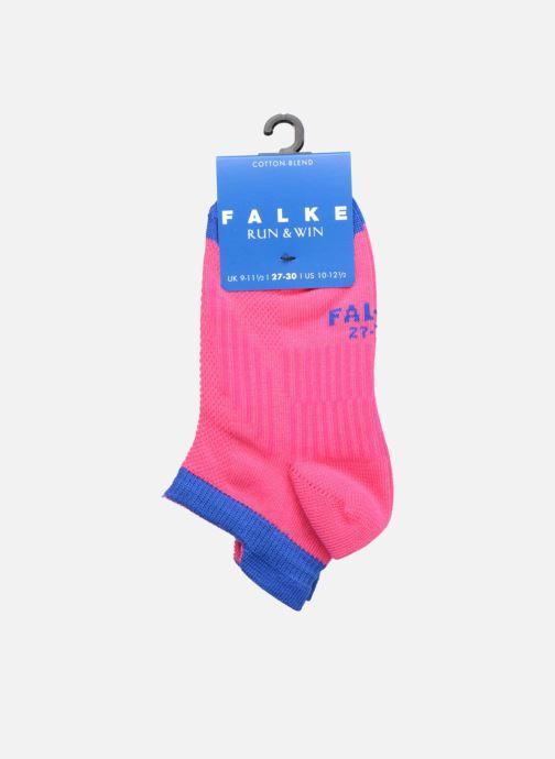 Socks & tights Falke Mini-socquettes RUN & WIN SNEAKER Coton Sport Pink back view