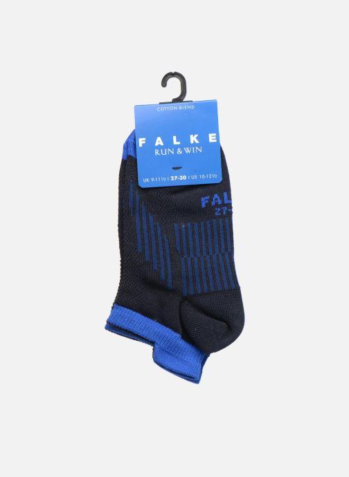 Chaussettes et collants Falke Mini-socquettes RUN & WIN SNEAKER Coton Sport Bleu vue derrière