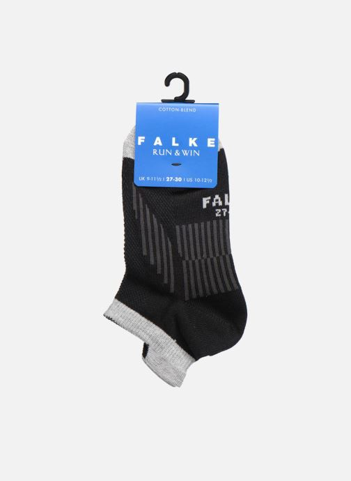 Sokken en panty's Falke Mini-socquettes RUN & WIN SNEAKER Coton Sport Zwart achterkant