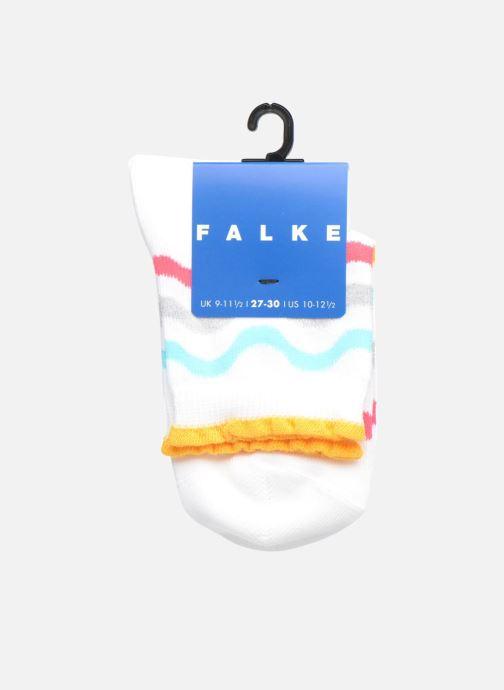Calze e collant Falke Socquettes WAVE STRIPE SHORT Coton Stripes Multicolore immagine posteriore