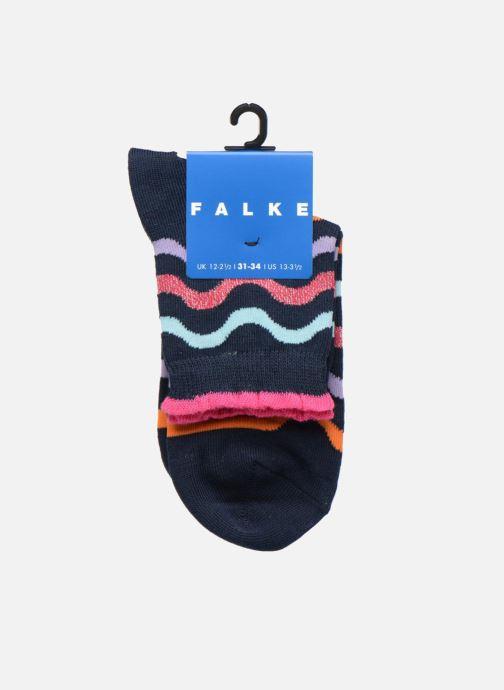 Socks & tights Falke Socquettes WAVE STRIPE SHORT Coton Stripes Multicolor back view