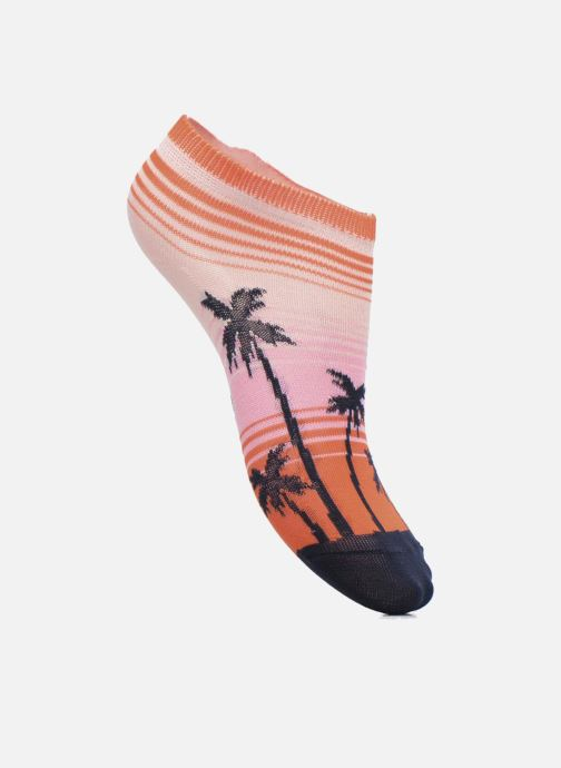 Socks & tights Falke Mini-Soquettes PALM BEACH SNEAKER Coconut Multicolor detailed view/ Pair view