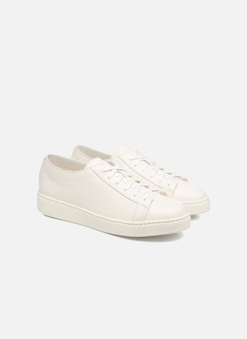 Sneakers Santoni Clean Icon W Wit 3/4'