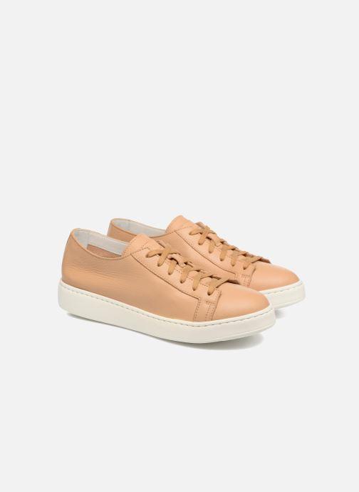 Sneakers Santoni Clean Icon W Beige 3/4'