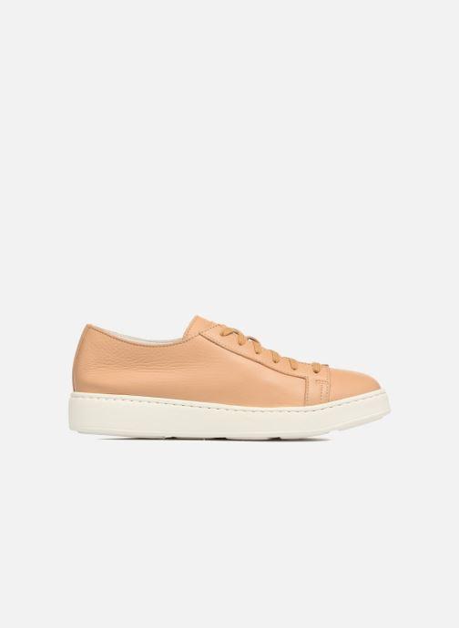 Sneakers Santoni Clean Icon W Beige achterkant