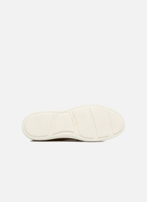 Trainers Santoni Clean Icon W Beige view from above