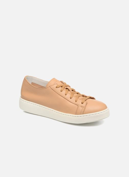 Trainers Santoni Clean Icon W Beige detailed view/ Pair view