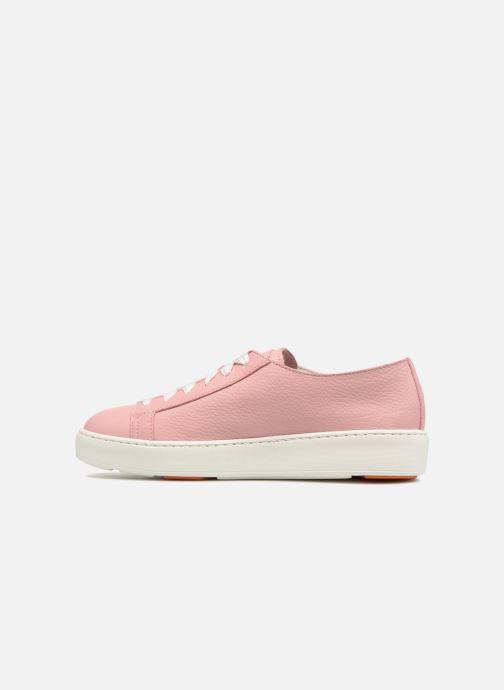 Sneakers Santoni Clean Icon W Roze voorkant