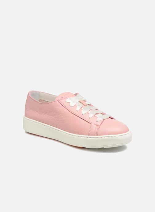 Trainers Santoni Clean Icon W Pink detailed view/ Pair view