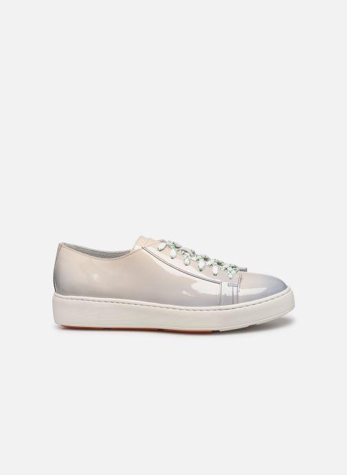 Sneaker Santoni Clean Icon W grau ansicht von hinten