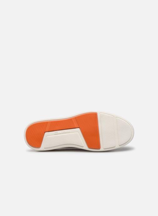 Sneaker Santoni Clean Icon W grau ansicht von oben