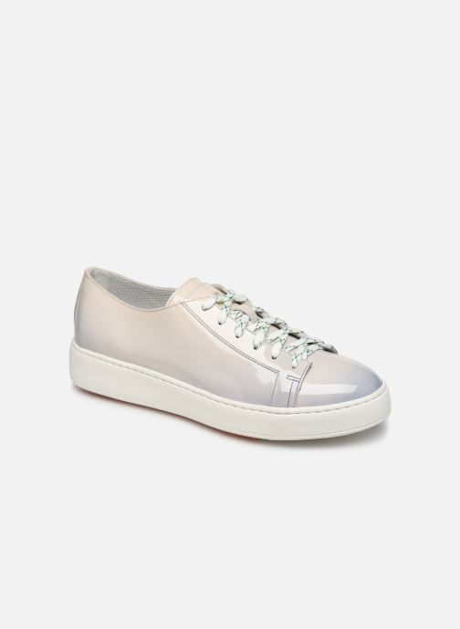 Sneakers Santoni Clean Icon W Grijs detail
