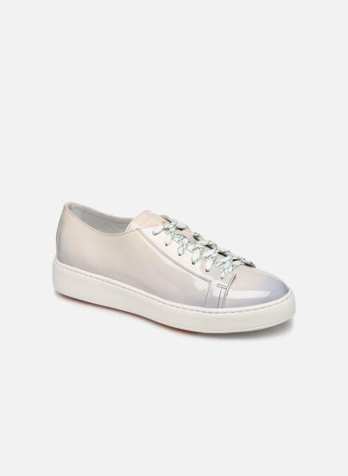 Sneakers Santoni Clean Icon W Grijs detail