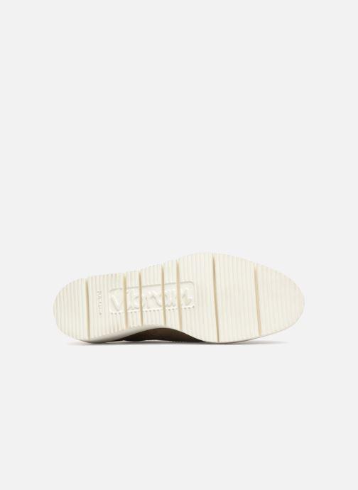 Chaussures à lacets Santoni Siby 55519 Gris vue haut