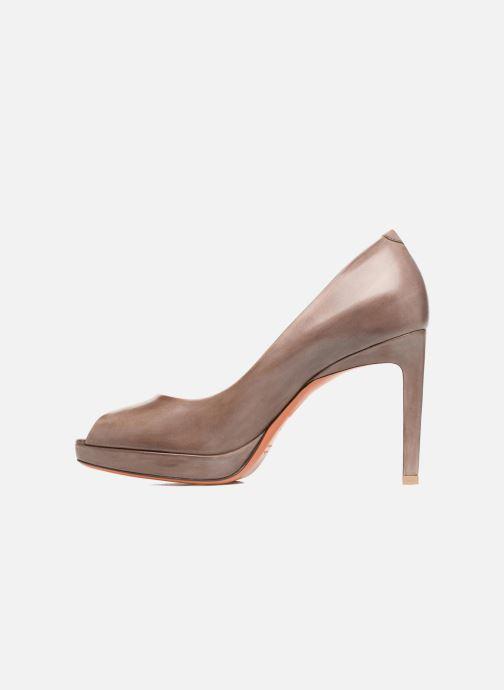 High heels Santoni New Leandra 55538 Beige front view