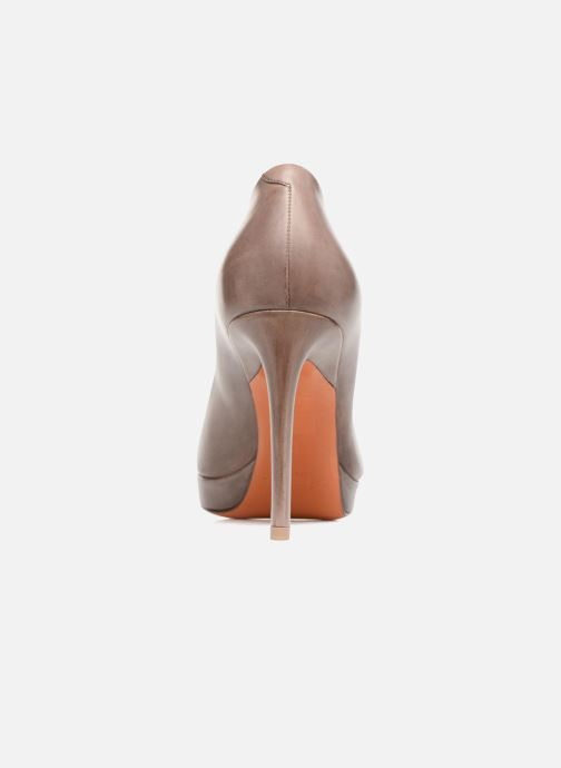 High heels Santoni New Leandra 55538 Beige view from the right