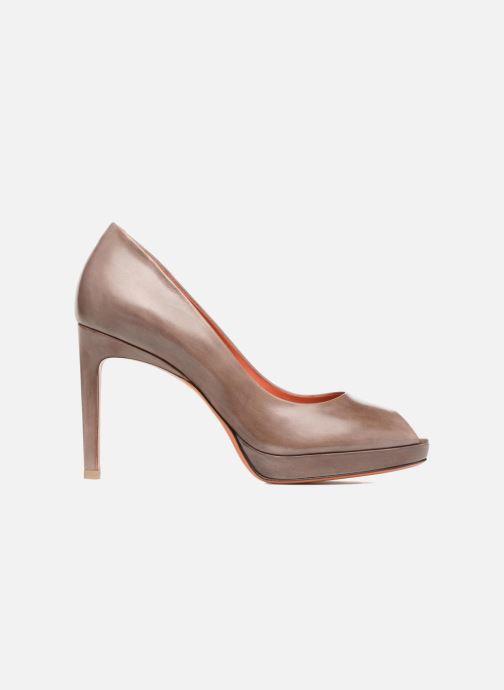 High heels Santoni New Leandra 55538 Beige back view