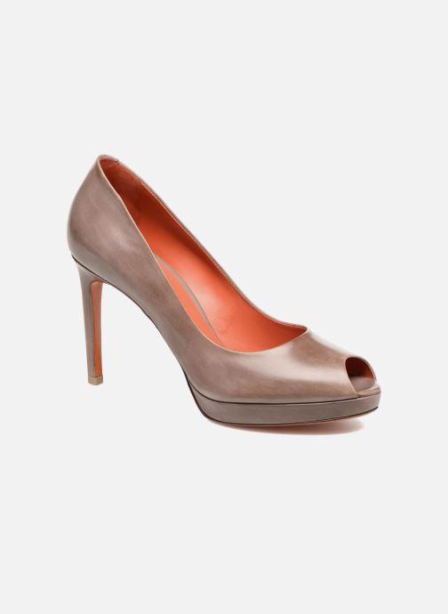 High heels Santoni New Leandra 55538 Beige detailed view/ Pair view