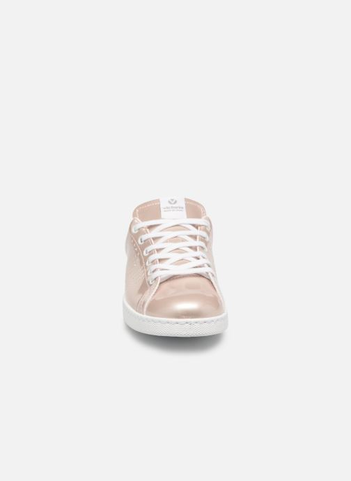 Baskets Victoria Deportivo Charol Rose vue portées chaussures