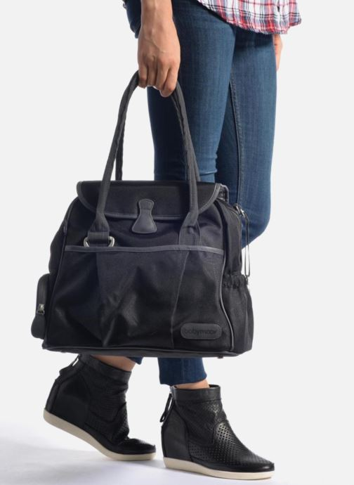 Sacs à main Babymoov Style bag Puericulture Noir vue bas / vue portée sac