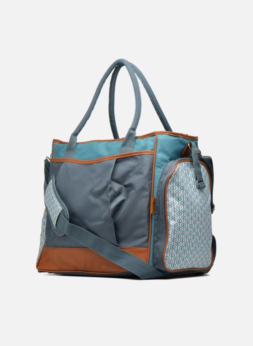 Sacs à main Babymoov Sac à Langer Essential Bag Bleu vue droite