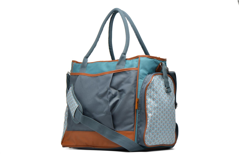 Handtaschen Babymoov Sac à Langer Essential Bag blau ansicht von rechts
