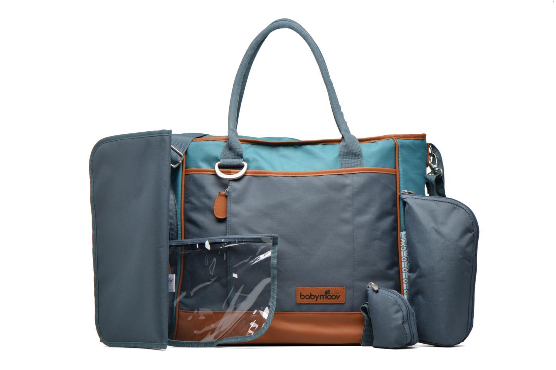 Handtaschen Babymoov Sac à Langer Essential Bag blau ansicht von links