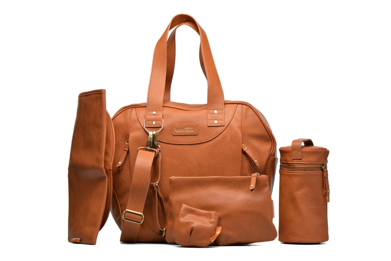 Handtaschen Babymoov Sac City Puericulture braun ansicht von links