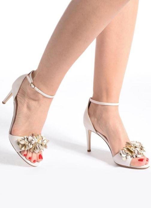 Sandales et nu-pieds L.K. Bennett Claudie Or et bronze vue bas / vue portée sac