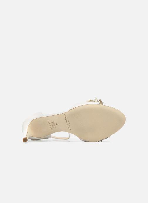 Sandales et nu-pieds L.K. Bennett Claudie Or et bronze vue haut