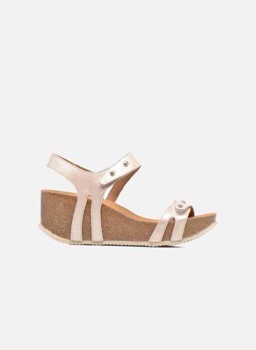 Sandales et nu-pieds Rondinaud Benovie Rose vue derrière