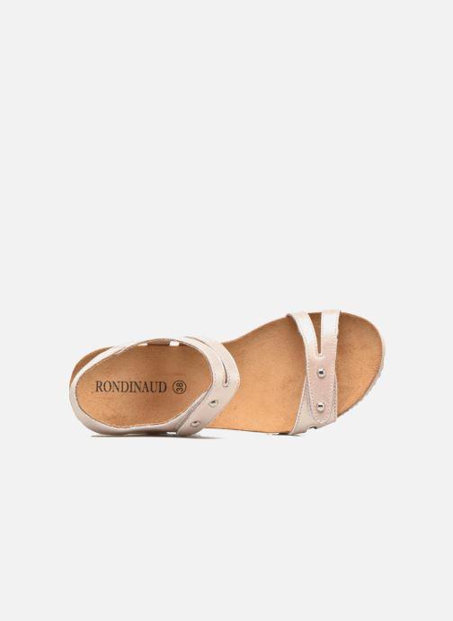 Sandales et nu-pieds Rondinaud Benovie Rose vue gauche