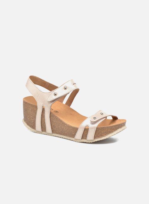 Sandales et nu-pieds Rondinaud Benovie Rose vue détail/paire