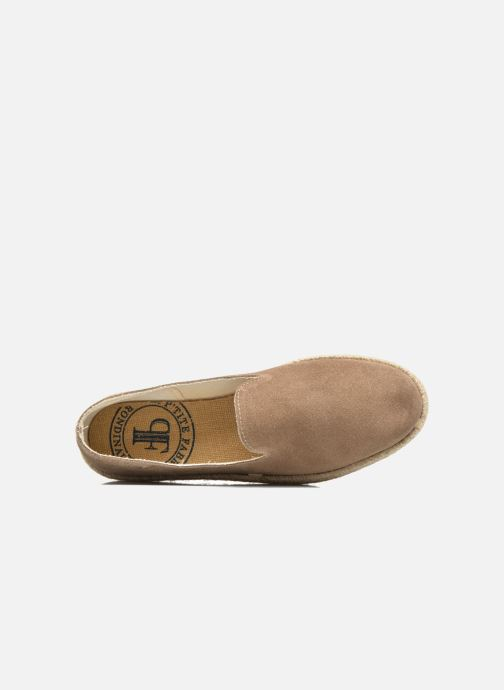 Espadrilles Rondinaud Fure Beige view from the left