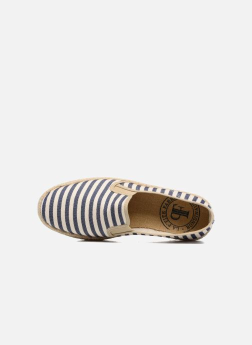 Espadrilles Rondinaud Dourbie Blue view from the left