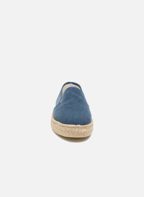 Scarpe di corda Rondinaud Loue Azzurro modello indossato