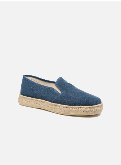 Espadrilles Rondinaud Loue Blue detailed view/ Pair view