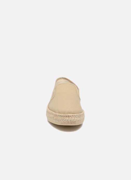 Espadrilles Rondinaud Randon Beige vue portées chaussures