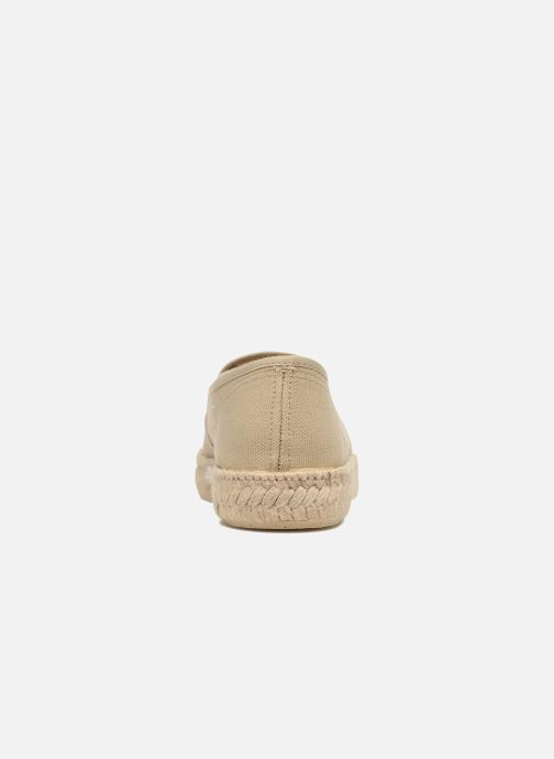 Espadrilles Rondinaud Randon Beige view from the right
