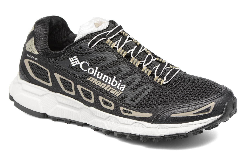 Chaussures de sport Columbia Bajada III W Noir vue détail/paire