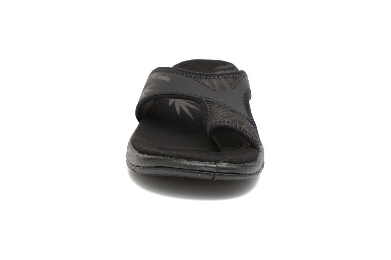 Tongs Columbia Kea Vent Noir vue portées chaussures