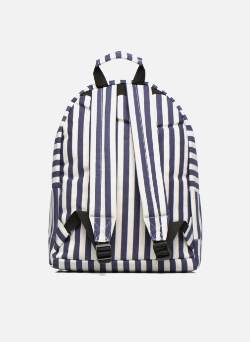 Sacs à dos Mi-Pac Premium Seaside Stripe Backpack Bleu vue face