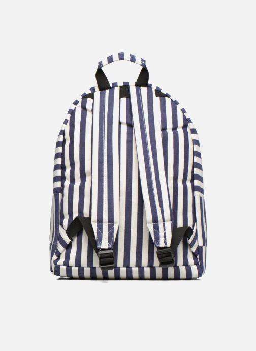 Mochilas Mi-Pac Premium Seaside Stripe Backpack Azul vista de frente