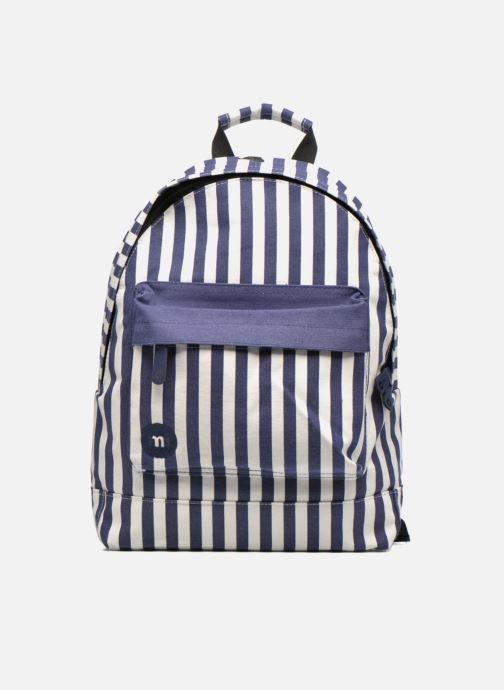 Mochilas Mi-Pac Premium Seaside Stripe Backpack Azul vista de detalle / par