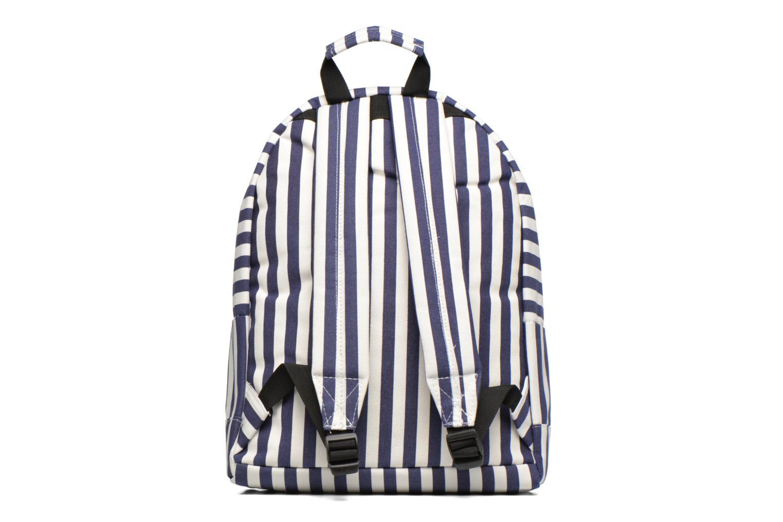 Rucksäcke Mi-Pac Premium Seaside Stripe Backpack blau ansicht von vorne