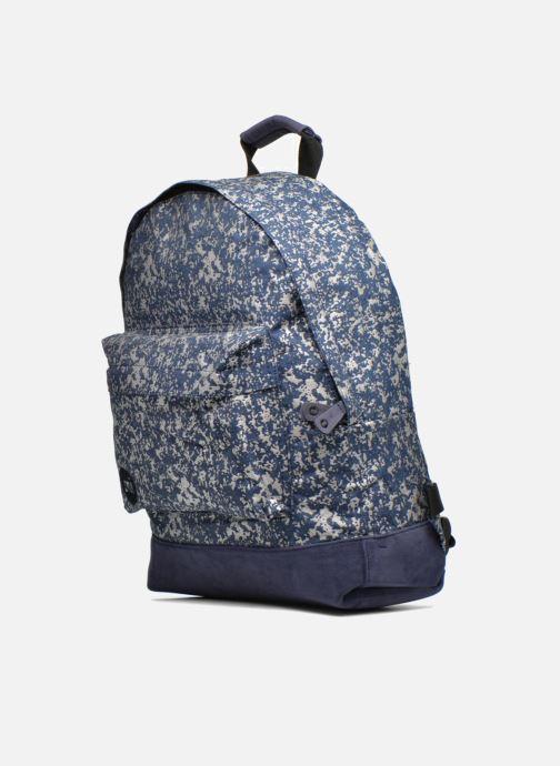 Rucksacks Mi-Pac Premium Denim Spatter Backpack Blue model view
